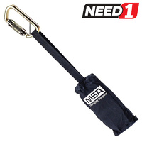 Suspension Trauma Safety Step Strap with Karabiner for Safety Harness