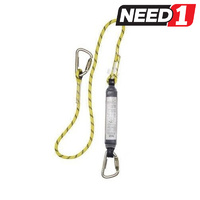 Shock Absorbing Rope Lanyard