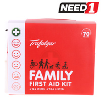 126pc Family First Aid Kit