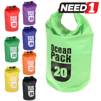 OCEAN PACK Waterproof Dry Bag 20L - Available in various colours