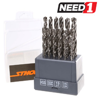 19pc HSS Drill Set