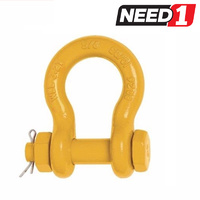 Grade S Safety Pin Bow Shackle - 3.2T