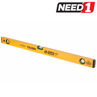 TOLSEN Spirit Level with Aluminium Frame & 3 Bubbles, 80cm