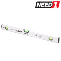 TOLSEN Magnetic Spirit Level with Aluminium Frame & 3 Bubbles, 60cm