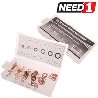 100pc Copper Washer Assortments