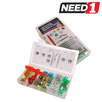 92pc Auto Fuse Kit with Puller & Tester