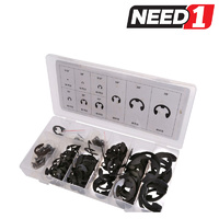 300pc E-Clip Assortment