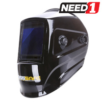 NERO Electronic Welding Helmet with Extra Large Viewing Area