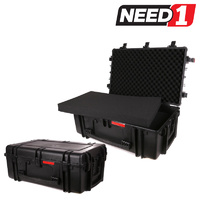 Waterproof Hard Roller Case With Foam Insert