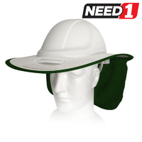 Snap Brim with Neck Flap for V-Gard 500 Series