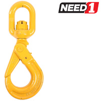 Eye-Swivel Self-Locking Safety Hook