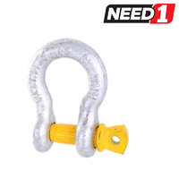 LIFT SAFE GRADE S 2T Lifting Bow Shackle Manufactured To Australian Standard