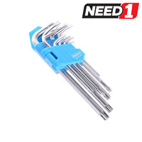 9pc Hex Wrench Set