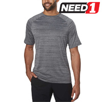 Men's Active Tee, Grey