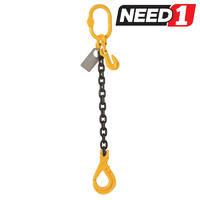 Chain Sling - Single Leg - 8mm x 1m
