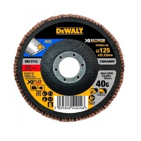 5pk Ceramic Flap Disc 125mm x 40G