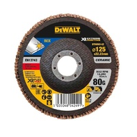 5pk Ceramic Flap Disc 125mm x 80G