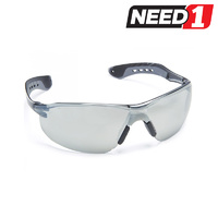 Safety Glasses - Glide Silver Mirror Lens