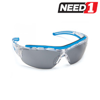 Safety Glasses - Shield Smoke Lens