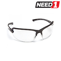 12 X Force360 Horizon Clear Lens Safety Spectacle Glasses