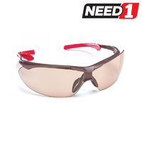 Safety Glasses - Eyefit Light Brown Lens