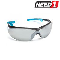 Safety Glasses - Eyefit Silver Mirror Lens
