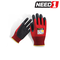 Redback Latext Safety Gloves