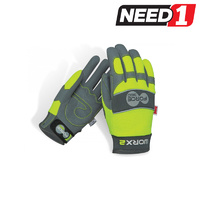 Worx 2 Original Hi-Vis Mechanic's Safety Gloves