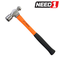 JETECH ball Pein Hammer 24oz with Fibreglass Handle