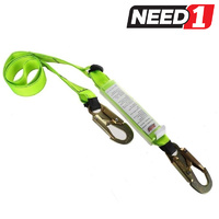 Tear Web Lanyard + Double Action Safety Snap Hooks