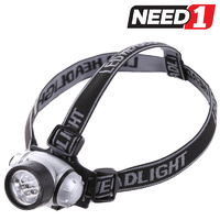 4 x 7LED Head Lamps With Adjustable Strap