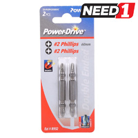 Phillips Screwdriver Bits - Double-Ended