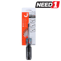 6-in-1 Compact Screwdriver