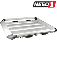 Aero Roof Rack Luggage Cargo Carrier Alloy 1610mm x 150mm x 1010mm 12.5Kg