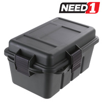 TSUNAMI - Dry Storage Utility Box Water Resistant (Float) - Lockable Rugged P.P Plastic